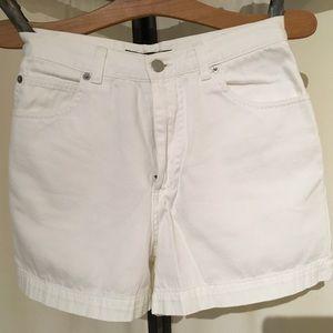 Banana Republic ~Shorts, Sz 4, White, High Waist